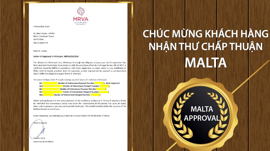 chuc-mung-khach-hang-maple-leaf-viet-nam-nhan-approval-letter-malta